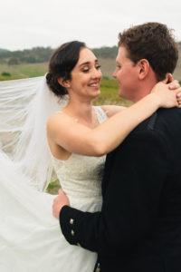 Jamie Tegan Wedding Close Up