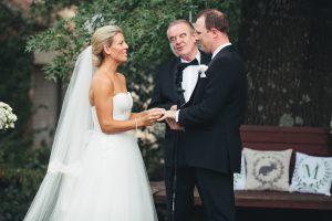 Wedding Newly Weds and Celebrant
